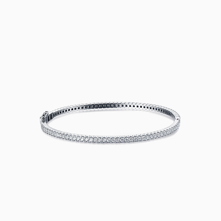 Round Diamond Full bangle