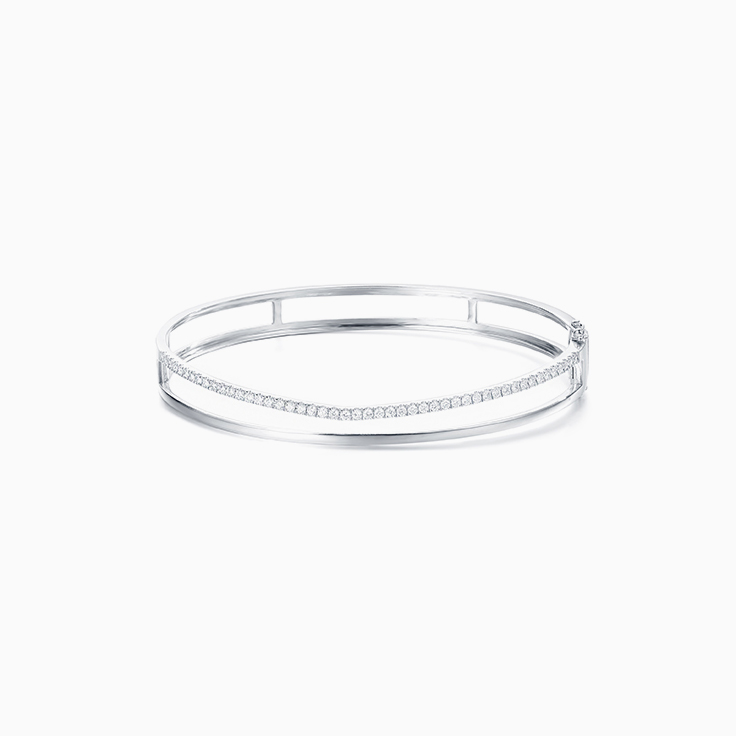 Double bar Bangle