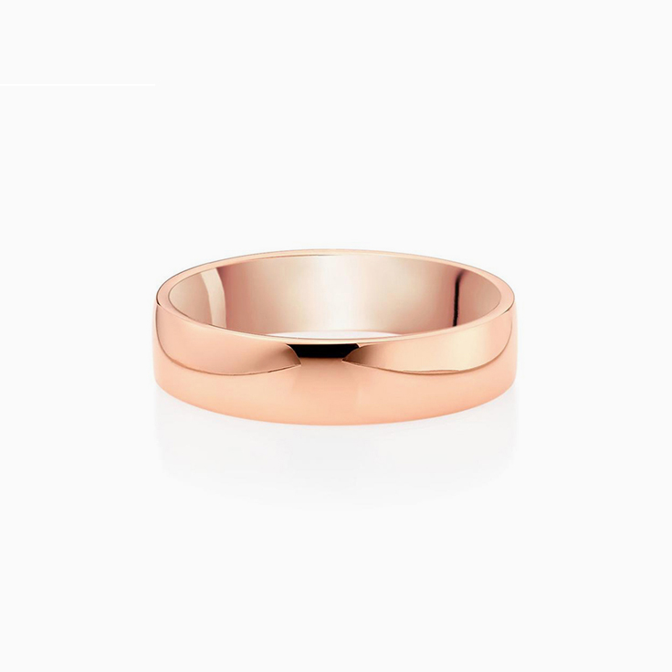 Comfort fit Mens Wedding Ring