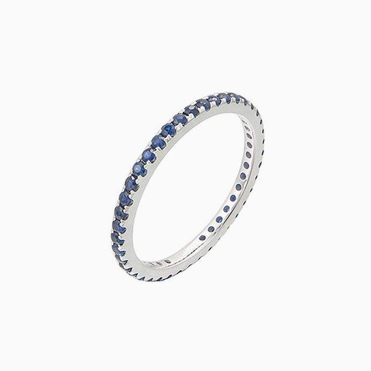 Blue Sapphire eternity band 3925