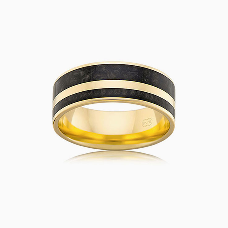 Black Spectrum Mens Ring J4363