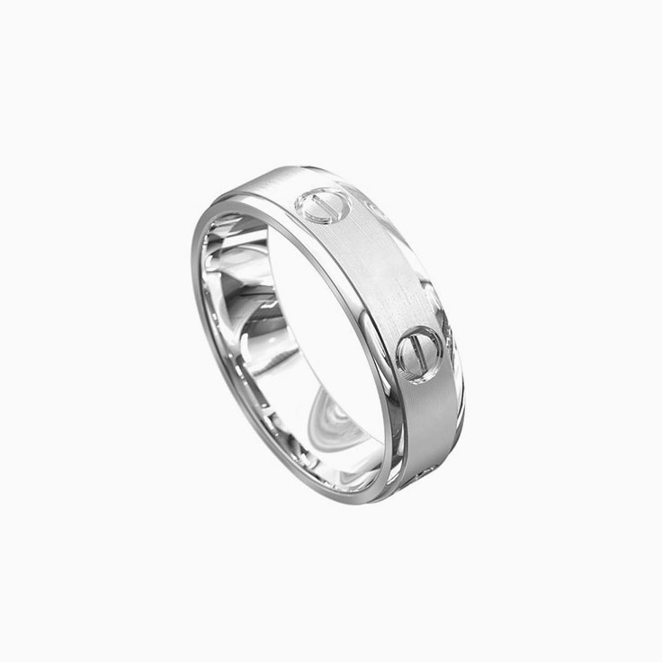 Two tone mens ring 5002