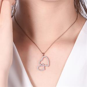 Heart on Heart Pendant