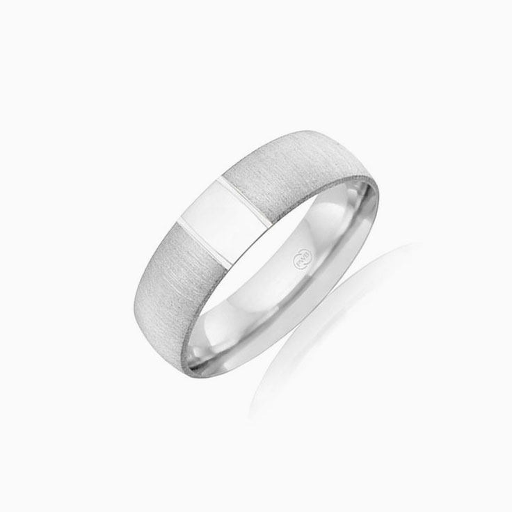 Matt finish mens ring CW3460